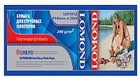 Бумага Lomond для струйных принтеров, Premium полуглянцевая, 200 г/м2, 914 мм х 30 метров