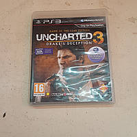 Диск Uncharted 3 Drake's Deception Sony PlayStation 3 PS3 Лицензия