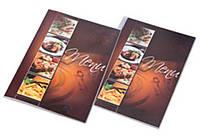 Папка меню А4 на 1 разворот CAFE