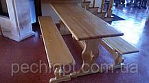 Деревянные столы и лавочки, фото 3