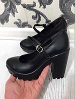 Модные туфли женские. Материал: натуральная кожа/натуральная замша. Высота каблука: 10 см. Размеры 36-40.