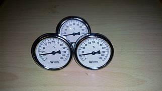 Термометр аксиальный биметаллический WATTS F+R801