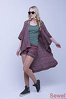 Модная летняя накидка-шаль