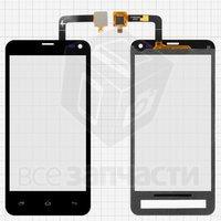 Тачскрин (сенсор) для мобильного телефона Fly IQ4416, original, черный