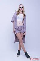 Летняя женская накидка-шаль