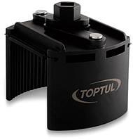 """Съёмник м/фильтра универсальный 115-140 мм 1/2"""" или под ключ 24 мм Toptul JDCA0114 (Тайвань)"""