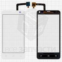 Тачскрин (сенсор) для мобильного телефона Fly IQ4416, белый