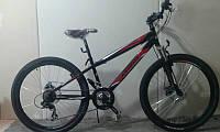 Горный спортивный велосипед 26 дюймов Azimu Extreme   (оборудование SHIMANO)черно-красный ***