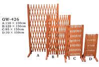 Забор из сосны, 1,5х0,95м