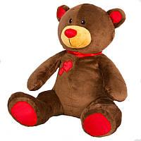 Детская мягкая игрушка, плюшевый мишка Подарок,коричневый