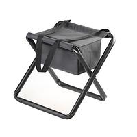 Стульчик складной без спинки с сумкой (нагрузка - до 120кг)