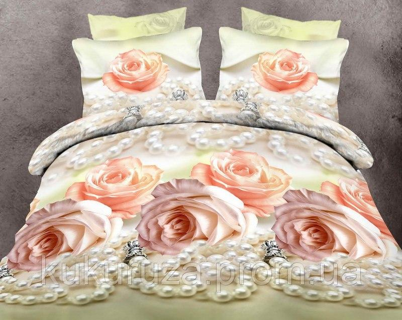Ткань ш.2.2 Голд Жемчужная Роза