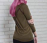Кожаная женская портупея из мягкой натуральной кожи FH-3., фото 2