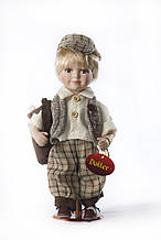 Декоративна лялька-хлопчик Френкі (27 см)