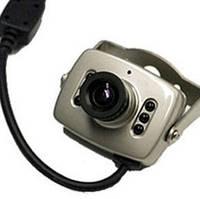 Камера наблюдения CCTV для видеонаблюдения цветная с микрофоном, фото 1