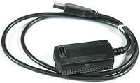 USB 3в1 кабель адаптер конвертер для SATA IDE HDD, фото 1