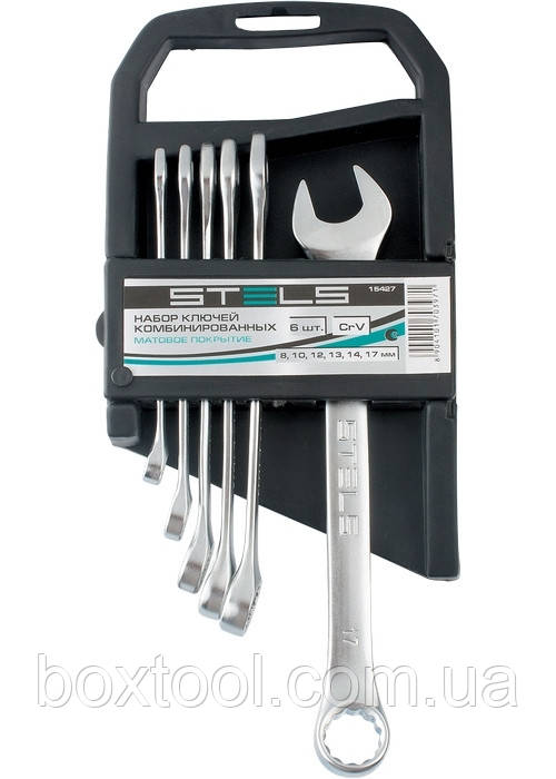 Набір ключів комбінованих 8-17 мм Stels 15427