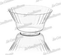 Пластиковая прозрачная креманка «Ondulina» 344 (250 мл)