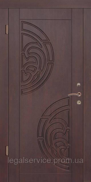 """Вхідні сталеві двері """"Порталу"""" (серія Стандарт) - модель Прибій"""