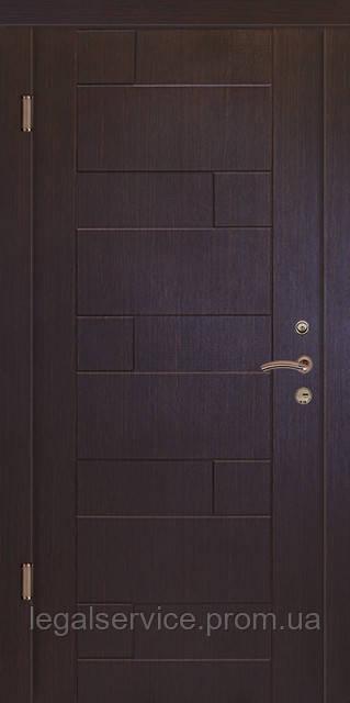 """Вхідні двері""""Порталу"""" (серія Люкс) модель Пазл"""
