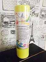 Салфетки универсальные в рулоне 30*30 см 50шт желтые Beauty вискоза+полиэстер с перфорацией