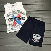 Комплект Майка и шорты для мальчиков оптом р.98-128см