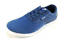 Кроссовки мужские  NIKE замшевые, голубые (р.41)