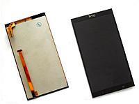 Дисплей для HTC 700 Desire Dual sim + touchscreen. чрный
