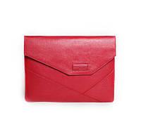 Кожаная папка для MacBook Issa Hara MC13 (15-00) красная