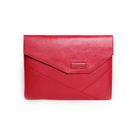 Кожаная папка для MacBook Issa Hara MC12 (15-00) красная
