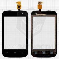 Тачскрин (сенсор) для мобильного телефона Fly IQ430 Evoke, черный