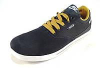 Кроссовки мужские  NIKE замшевые, синие с желт (р.42,43,45,46)