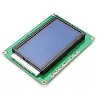 Дисплей графический 128X64 LCD 12864 ST7920 Arduino (синий экран)