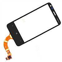 Тачскрин для Nokia 620 Lumia. чрный. оригинал (Китай)