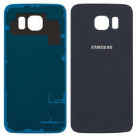 Задняя крышка Samsung G920F Galaxy S6. синяя. оригинал (Китай)