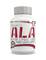 Антиоксидант BioTech USA - ALA 250 мг 50 капсул