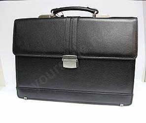 Кожаный мужской представительский портфель 4468