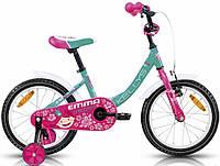 """Детский велосипед Kellys Emma azure 16""""."""