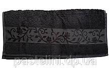 Рушник махра-бамбук 50x90 bamboo темно-сірий