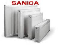 Сталевий радіатор Sanica 22 300-400, фото 1