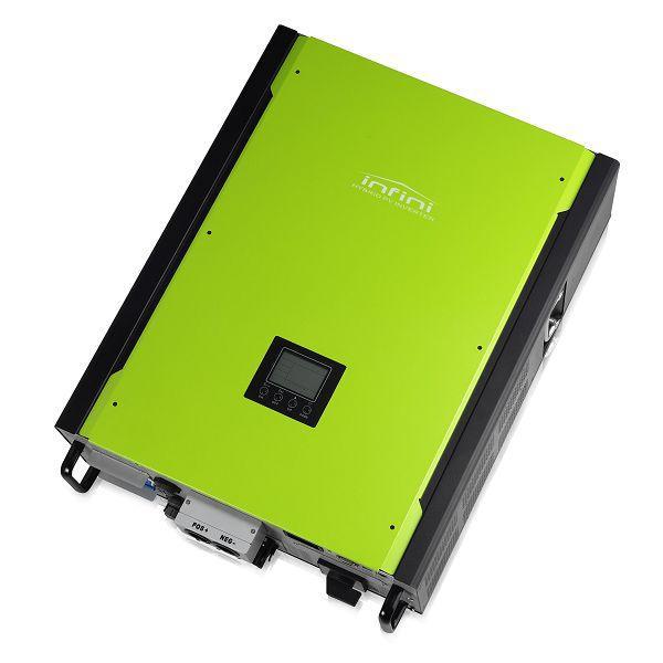 Солнечный инвертор гибридный InfiniSolar+Резерв, 10кВт