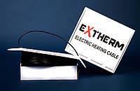 Двужильный нагревательный кабель EXTHERM ETC для внутренней и внешней установки, фото 1