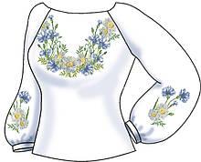 СВЖБ-60. Заготовка Жіноча сорочка лляна біла