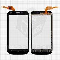 Тачскрин (сенсор) для мобильного телефона Fly IQ443 Trend, черный