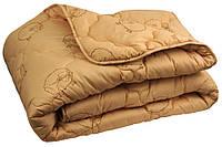 "Одеяло демисезонное шерстяное 205х140 бежевое чехол микрофибра ТМ ""Руно"""
