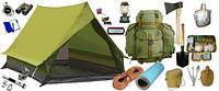 Идем в поход: палатки и спальные мешки