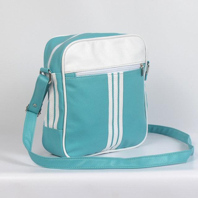 Чоловіча шкіряна сумка через плече (блакитна) - Камала в Хмельницком a1e17c960eb62