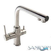 Imprese Daicy 55009S-F Смеситель для кухни с подключением питьевой воды.САТИН