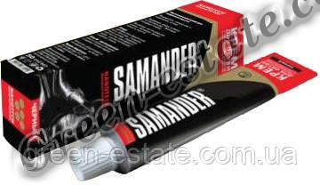 Крем для обуви туба Samander 50мл. черный