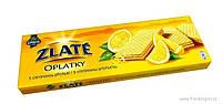 Вафли с цытрусовым вкусом Zlate Oplatky S citronovou prichutnou 146g.